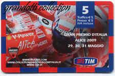 TIM GRAN PREMIO ITALIA 2009 DUCATI CORSE RARA RICARICA COLLEZIONE
