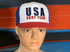 USA SURF TEAM SnapBack High Quality HAT EMBROIDERED. Surfing Olympics