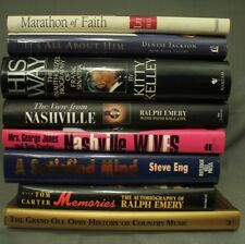 lot Music biography Nashville Wives Frank Sinatra Ralph Emery decorators shelf