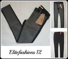 "Levi Woman 711 Skinny Fit Jean "" Black & Grey "" Size 29 x 30,Style # 188810195"