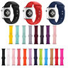 Silicone Braclet Watch Band Strap For Apple Watch Series 4/3/2/1 38MM 42MM 44MM
