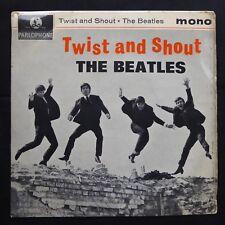"""THE BEATLES Twist & Shout PARLOPHONE 1963 UK Original 1N/2N MONO 7"""" 45 GEP 8882"""