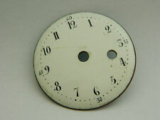 Quadrante antico orologio da tasca Verge Fusee pocket watch dial.