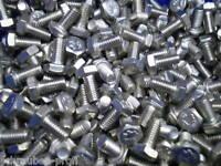 10 Sechskant Schrauben DIN 933 * 8,8*  M7 x 25 mm 10 S- Muttern DIN 985 galZN