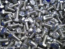 10 Sechskant Schrauben DIN 933 M7 x 30 mm *8.8* 10 Muttern 10 K-Scheiben galZN