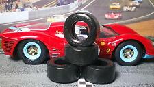 1/24 PAUL GAGE URETHANE SLOT CAR TIRES  2pr fit Carrera Ferrari 330 P4
