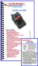 Yaesu VX-8DR Nifty Quick Reference Guide, VX-8D VX8DR