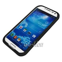 Black soft Silicon Case Skin Cover for Samsung Galaxy S4 S IV SCH-i545