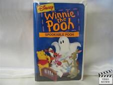 Winnie the Pooh - Spookable Pooh * VHS Clamshell *