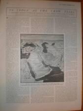 Article Charles E D Black rail route China India 1911