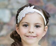 Christening, Wedding & Special Occasion Diamante Headbands - 0-6 Years