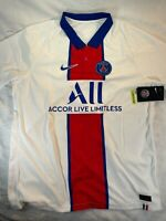 Nike PSG Paris Saint-Germain Vaporknit Match Away 2020-21 Jersey XL (CD4188-101)