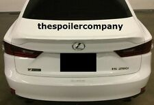 PRE-PAINTED REAR SPOILER FOR 2014-2017 LEXUS IS - BRAND NEW ANY COLOR