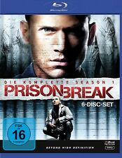 PRISON BREAK, Season 1 (6 Blu-ray Discs, Schuber) NEU+OVP