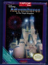 Disney Adventures in the Magic Kingdom Nintendo NES New TESTED WORKS GREAT