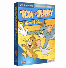 new 6 DVD D9 TOM AND JERRY Collection 143 episodes box set kid Animation Child