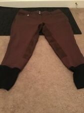 Bradley Womens By SMARTPAK Pants Chocolate Clothes Full Seat Breeches