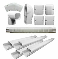"16ft Line Set Cover Kit Cover 3"" Line Set & Tubing For Mini-split & Central A/C"