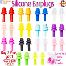 Ear Plugs with Carry Box Soft Silicone Ear PPE Reusable Anti Noise For Sleep
