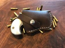 Custom Leather Holster For Derringer.22 LR/ Pocket Holster