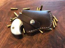 Custom Leather Holster For Derringer.22 LR/ Pocket Holster