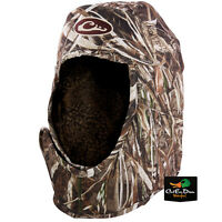 DRAKE WATERFOWL SYSTEMS SHELTER HAT CAP HOOD WINDPROOF REALTREE MAX-5 CAMO