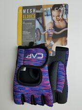 Cap Medium Purple Mesh Weightlifting Gloves Training Workout Athletic Gym Gift
