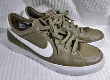 Nike Sweet Legacy Mens US 12 Sneakers 429873-201 Dark Olive Green Leather T Shoe