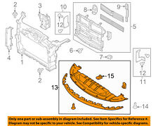 FORD OEM Taurus Radiator Core Support-Lower Splash Shield Deflector AG1Z8327A