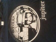 Rare D. Folks Jupiter Soul Provider R&B Pop Funk Band T-Shirt (Large)