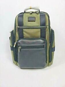 Tumi Alpha Bravo Sheppard Backpack Green 232389