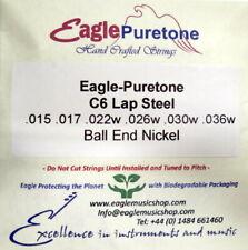 More details for eagle-puretone c6 lap steel guitar set .015 .017 .022w .026w .030w .036w