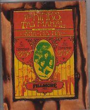 The Kinks Taj Mahal 1969 Fillmore West Flyer Copied On A Unique Wooden Plaque