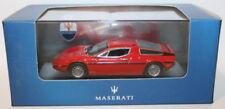 Véhicules miniatures rouges Maserati sans offre groupée