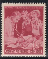 TIMBRE ALLEMAGNE NEUF * CHARNIERE N° 788 SECOURS AUX MERES AUSCULTATION MEDECIN