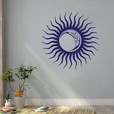 Sonne & Mond Kinder Himmel Wandtattoo Wallpaper Wand Schmuck 50 cm