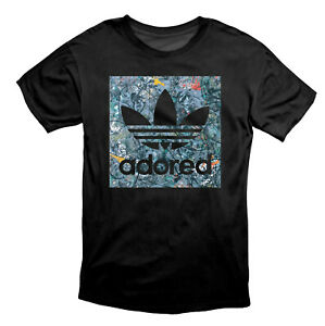 Stone Roses Inspired Adored Printed T Shirt Black