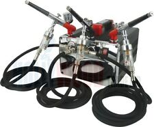 Nuevo Mini Compresor Aerografía Kit-Hs 218 Kit 3 (3 Aerógrafo's)