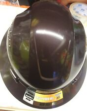 Brown Safety hard hat (cool Air Flow)