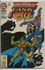 Justice League Task Force 1993 series # 9 very fine comic book