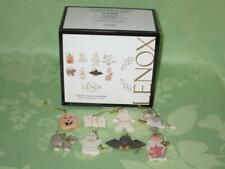 Lenox ~ 8 Halloween Figural miniature ornaments ~ new ~ free shipping