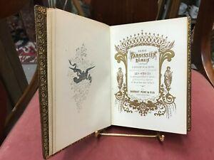 superbe Livre d'Heures de 1862 par Barbat Père et Fils ouvrage magnifiques
