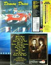 Demon Drive - Burn Rubber (CD, 1995, Alfa Music Inc., Japan w/OBI) ALCB-3072