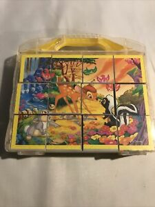 Disney Bambi Clementini Cube Puzzle Toy Great Condition In Box