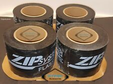 New listing Four (4) rolls of Zip System Flashing Water Sealing Tape Best Tape Ever!