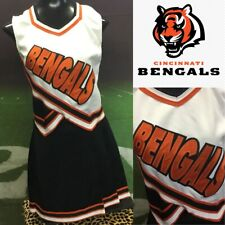 Real Cheerleading Uniform Cincinnati Bengals Adult XXL