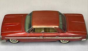 1961 ca.11 inch CHEVROLET IMPALA Tin Friction Car  Vintage JAPAN Bandai