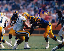 TONY MANDARICH  GREEN BAY PACKERS   ACTION SIGNED 8x10