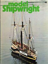 Model Shipwright No 45  (Conway 1983 1st)