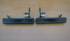 70-81 FIREBIRD TRANS AM CAMARO OUTSIDE DOOR HANDLES, BLACK, PAIR